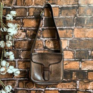 Vtg 1960s Bonnie Cashin Coach Leather Courier Bag